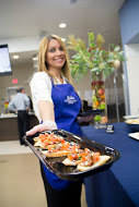 The Food Innovation Center grand opening featured hand crafted appetizers.