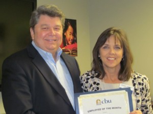Dr. Ellis with Cherlyn Johnson
