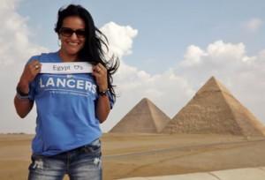 Dr. Monica O'Rourke in Egypt