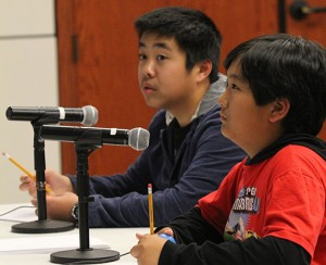 Nineteen middle schools participated in MATHCOUNTS on CBU's campus Feb. 8.