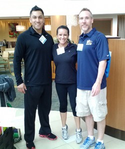 From left: Jason Guerrero, Dr. Monica O'Rourke and Dr. Dave Pearson