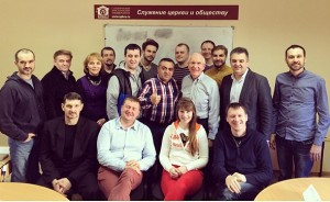 2014 Masters Class at Saint Petersburg Christian University