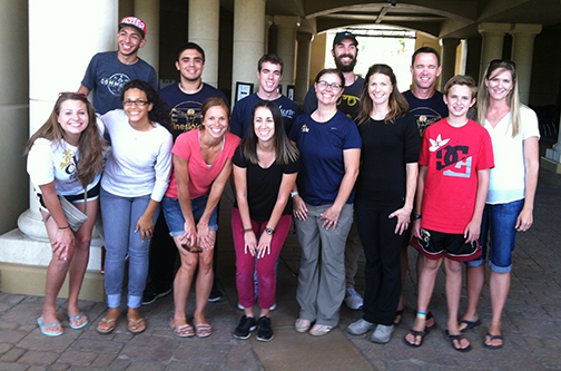 The College of Allied Health's global health engagement team is currently working in East Africa.