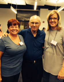 From left: Dr. Nona Cabral, Dr. Jerome Sattler and Dr. Jane McGuire