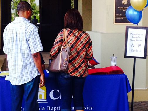 Step Ahead is a program that gives freshman and transfer students a head start on the fall registration process.