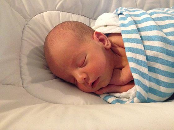 Josh's baby Hunter