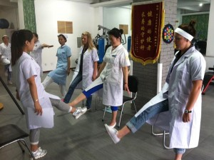 A team from the CBU College of Allied Health traveled to Bo Hua Hospital in Jilin, China as part of the Global Health Engagement program.