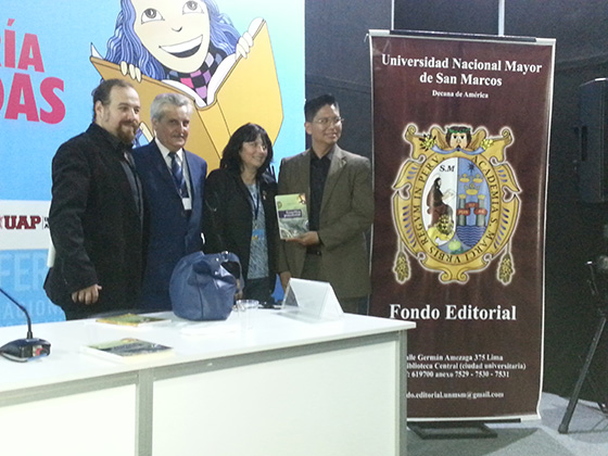 From left: Professor Martín Guerra, Prof. Elid Brindis, Prof. Patricia Victorio (Moderator), and Prof. William Flores.