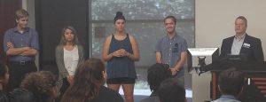 Student Panel and Keanon Alderson