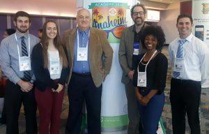 From left: Joshua Park, Emily Sutter, Dr. Creed Jones, Dr. Matthew Rickard, Chardythe Gipson-Bean, and Jonathan Jacobson